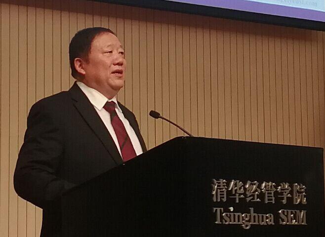 俞学锋董事长在清华大学分享安琪经验