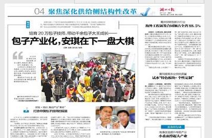 湖北日报:安琪科技助力,催化包子产业转型升级