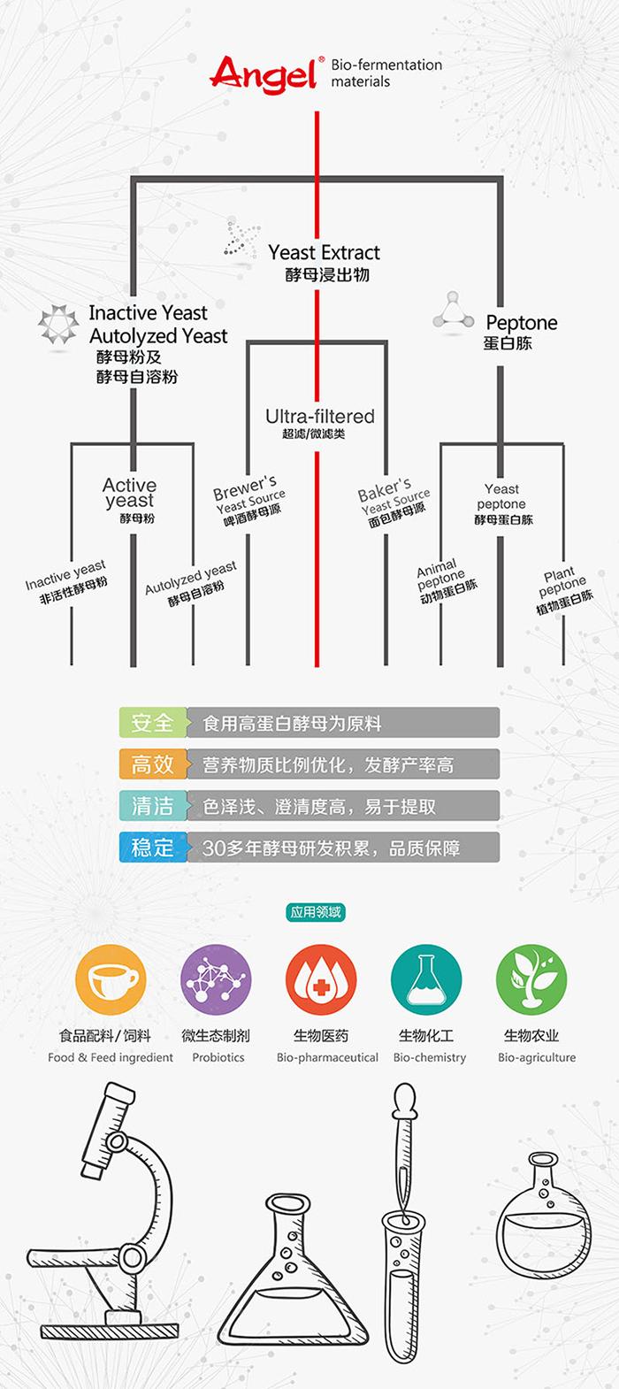 安琪发酵营养元 产品系列
